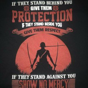 If They Stand Behind You Give Them Protection Tee